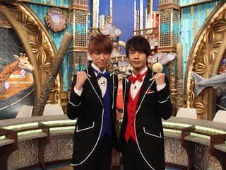 NEWS小山慶一郎&KAT-TUN中丸雄一、筋トレに悶絶 「おたすけJAPAN」特別動画が公開