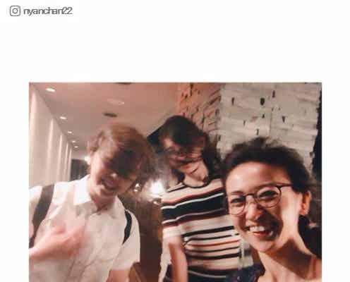 大島優子、小嶋陽菜&峯岸みなみとのプライベートショットが「めちゃくちゃ楽しそう」