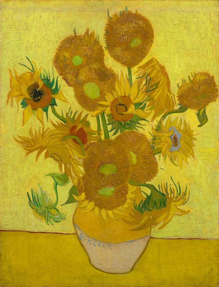ゴッホ美術館に収蔵されている『ひまわり』(c)Sunflowers, Vincent van Gogh, 1889, Van Gogh Museum