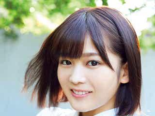 欅坂46尾関梨香、愛くるしさ全開 美少女ぶり魅せる
