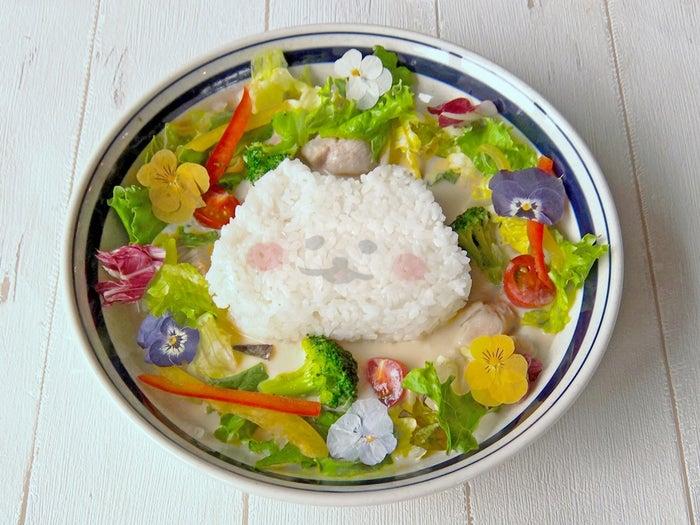 ほわころちゃんのお花ばたけカレー1,300円/画像提供:東急ハンズ