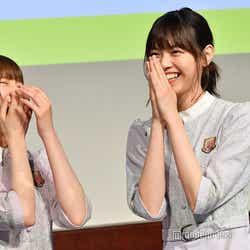 中田花奈「私たちだけ嘘ついてるみたいじゃーん!」西野七瀬「すみません」 (C)モデルプレス