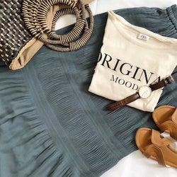 【GU】低身長さんにおすすめ!大人気「プリーツスカート」で夏の涼しげスタイルアップコーデ