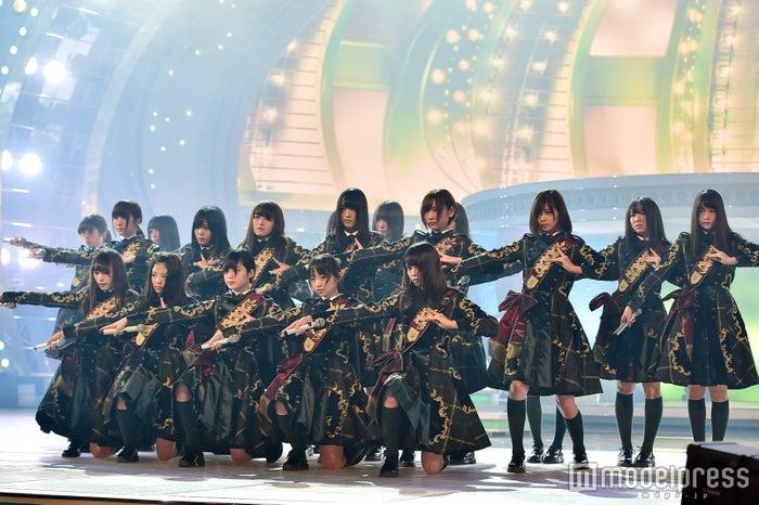 欅坂46/紅白リハ最終日(C)モデルプレス