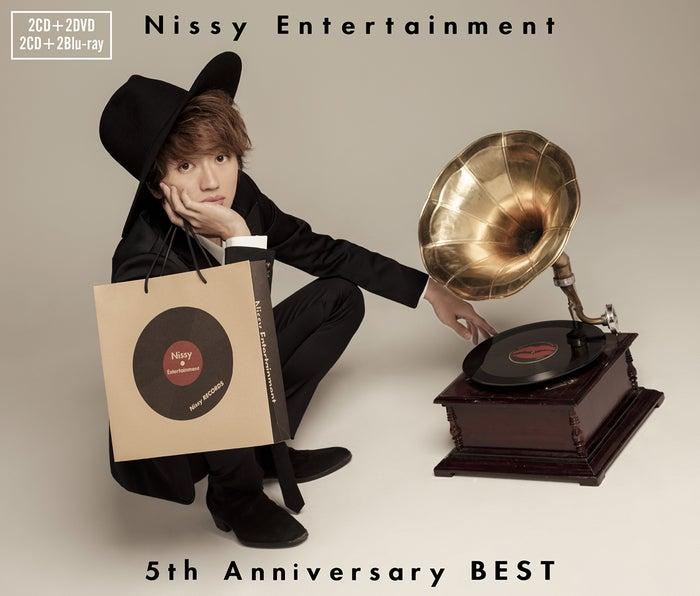 『Nissy Entertainment 5th Anniversary BEST』【2CD+2DVD】【2CD+2Blu-ray】(提供写真)(提供写真)