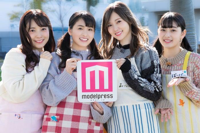 (左から)斉藤優里、大園桃子、白石麻衣、向井葉月(C)「NOGIBINGO!10」製作委員会