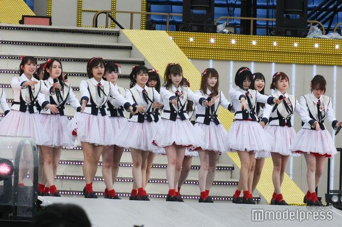 NGT48「AKB48グループ春のLIVEフェスin横浜スタジアム」(C)モデルプレス