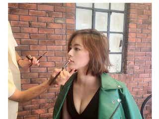 SKE48松井珠理奈、SEXY谷間に注目集まる「色っぽい」「ナイスバディ」の声