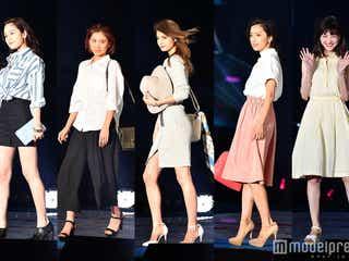 マギー、ラブリ、中村アンらが2016年春夏トレンド・ファッションで魅せる おしゃれ上手になる着こなし法