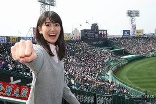X21・小澤奈々花、春のセンバツ甲子園でエール「ここにいないと実感できないリアルさ」を体感
