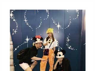 青山テルマ、藤田ニコルは「本当に努力家」とにかく明るい安村とディズニー満喫