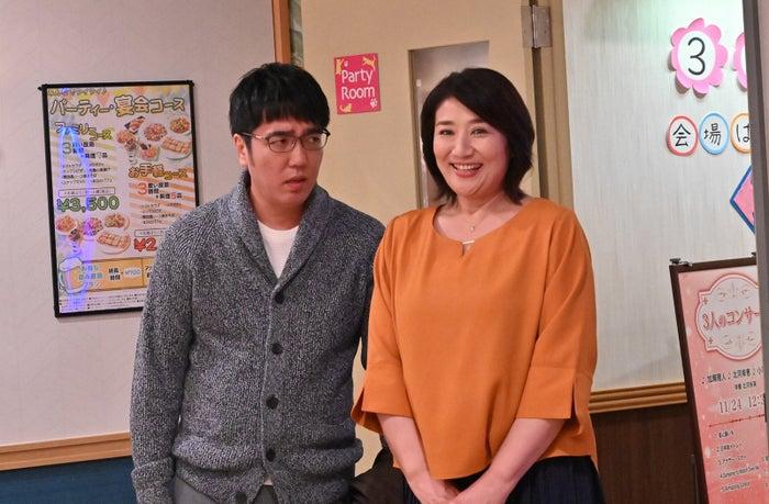 小木博明、松下由樹/「G線上のあなたと私」第8話より(C)TBS