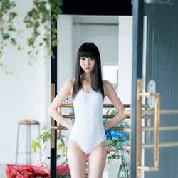 モデルプレス - AKB48選抜総選挙速報1位のNGT48荻野由佳、レオタードでスレンダーボディあらわ