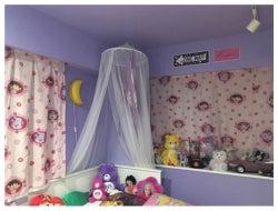 以前住んでいた家の寝室/ぺこオフィシャルブログ(Ameba)より