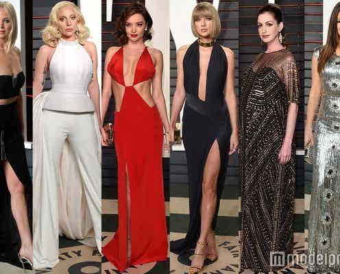 ミランダ、テイラーもSEXYドレス セレーナ、ガガら豪華セレブ登場のアカデミー賞アフターパーティー