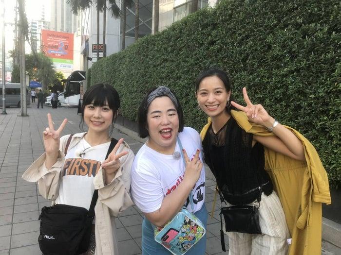 (左から)有村藍里、ゆりやんレトリィバァ、高橋ユウ(画像提供:関西テレビ)