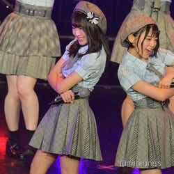 坂口渚沙、濱咲友菜/AKB48チーム8「TOKYO IDOL FESTIVAL 2018」 (C)モデルプレス