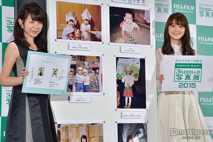 (左から)平井理央、佐々木希