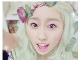 ももクロ・佐々木彩夏が金髪姿を披露で「ただの天使じゃん!」