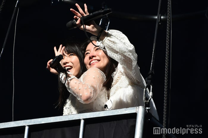 横山由依、松井珠理奈/「AKB48 53rdシングル 世界選抜総選挙」AKB48グループコンサート(C)モデルプレス