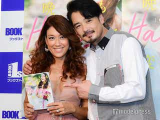 LiLiCo&純烈・小田井涼平、夫婦で会見 木村拓哉から祝福コメント来ていたこと明かす