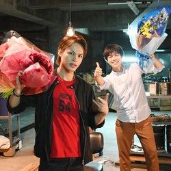 KAT-TUN上田竜也&ジャニーズWEST重岡大毅、クランクアップ&オリジナルストーリー「節約LOCK」配信決定