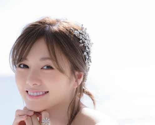 """白石麻衣""""乃木坂46ラスト表紙"""" 純白ドレスできらめく笑顔"""