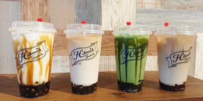 左から、波照間黒糖ミルク、北海道ミルクティー、京都産宇治抹茶ミルク、加賀棒ほうじ茶ミルク/画像提供:株式会社ジャストライク