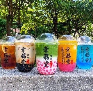 「幸福堂」台湾発の黒糖タピオカミルク専門店が原宿に上陸