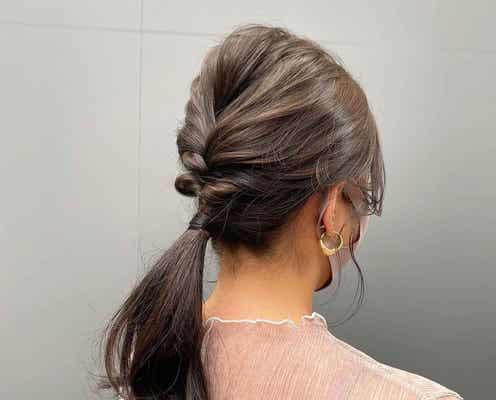 清涼感漂う美人に♡【まとめ髪】がラフかわいい!