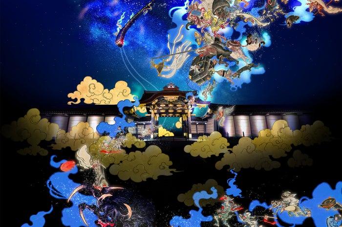 京都の世界遺産「二条城」で夏季ライトアップ/画像提供:ネイキッド