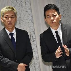 宮迫博之・田村亮、記者会見終了後に再登壇 報道陣に最後まで真摯な対応