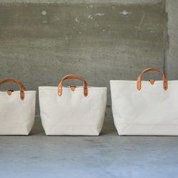 シンプルに見えてこだわりアリ!上質素材の使いやすい帆布バッグ特集