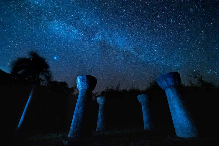 マリアナの澄んだ夜空に広がる満点の星空(C)Junji Takasago / MVA