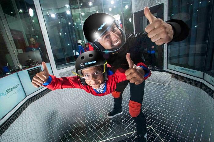 子どもでも安心してフライト体験/画像提供:株式会社 FlyStation Japan
