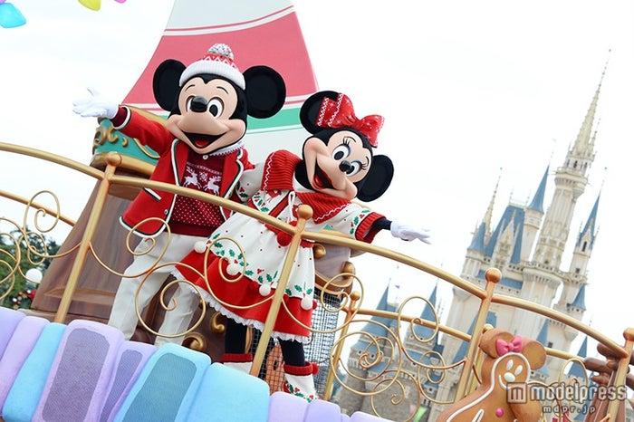 パレード「ディズニー・クリスマス・ストーリーズ」(C)Disney【モデルプレス】