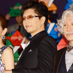 (左から)北川景子、GACKT、小日向文世 (C)モデルプレス