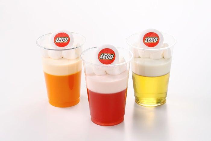 「レゴランド」に夏限定フード登場 LEGOブロックがひんやりデザートも/ゼリームース各350円/画像提供:LEGOLAND JAPAN
