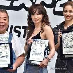 出川哲朗、長谷川京子、楓 (C)モデルプレス