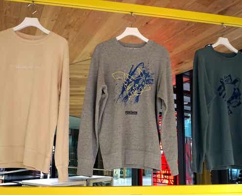 ユニクロ「UT」21年秋冬物 アートとの協業、スウェットシャツ強化