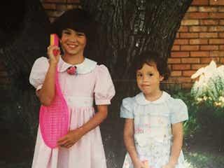 水原希子&佑果、幼少期の姉妹2ショットに「可愛すぎる」絶賛の嵐