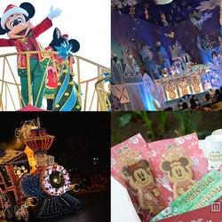 ディズニークリスマスを満喫!限定パレードにアトラクション、スウィーツ…楽しみがいっぱい
