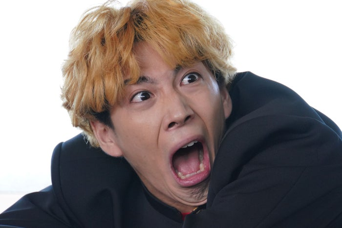 賀来賢人/『今日から俺は!!』第1話より(C)NTV