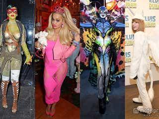 【ランキング】今年の仮装クイーンは?テイラー、リアーナ、ケイティら海外セレブの本気ハロウィン