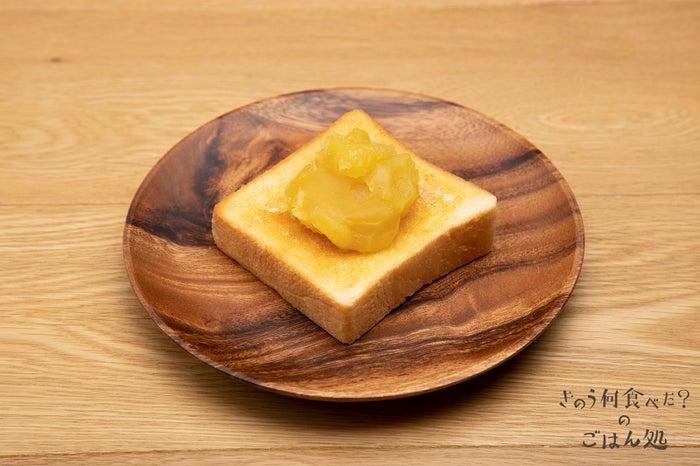 あの憎い女の店の食パンでつくった栗きんとんトースト 590円(税別)(/画像提供:パルコ