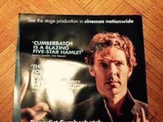 ベネディクト・カンバーバッチ主演『ハムレット』の海外用ポスターをプレゼント!