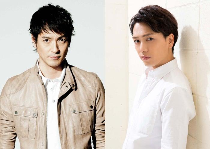 月9「突然ですが、明日結婚します」に出演する(左から)沢村一樹、山崎育三郎(画像提供:フジテレビ)