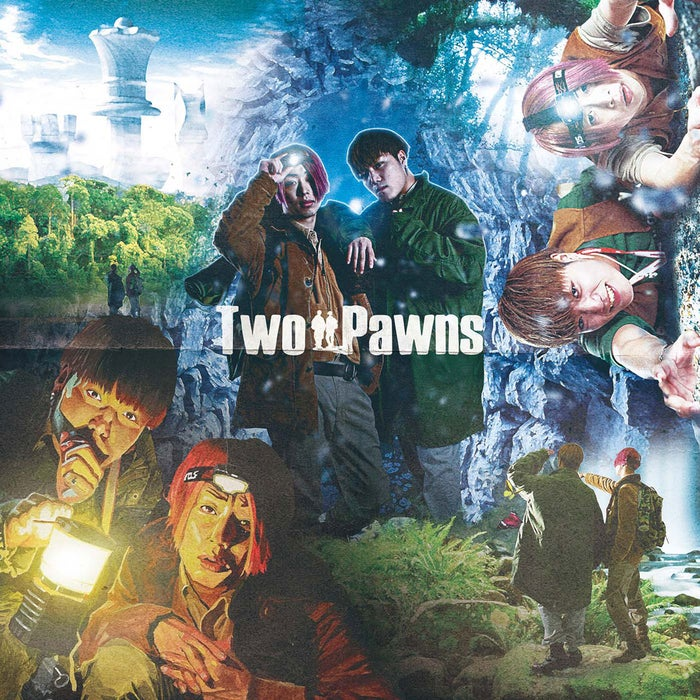 EINSHTEIN&言xTHEANSWERデビューアルバム「Two Pawns」(提供写真)