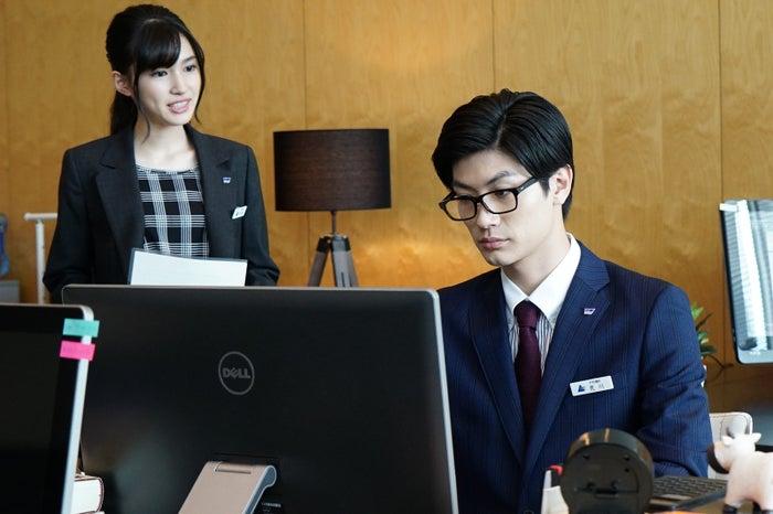 長見玲亜、三浦春馬/「オトナ高校」より(提供画像)