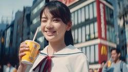 「マックシェイク 森永ミルクキャラメル」CM出演の美少女が話題 「nicola」専属モデルの青井乃乃